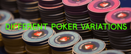 poker variations, rules and hand combinations